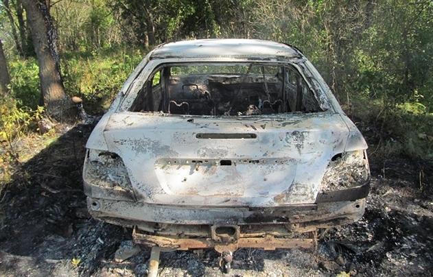 В Кричевском районе рыбак сгорел заживо в своей машине