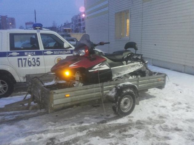 В Беларуси уже начали конфисковывать первые квадроциклы и снегоходы