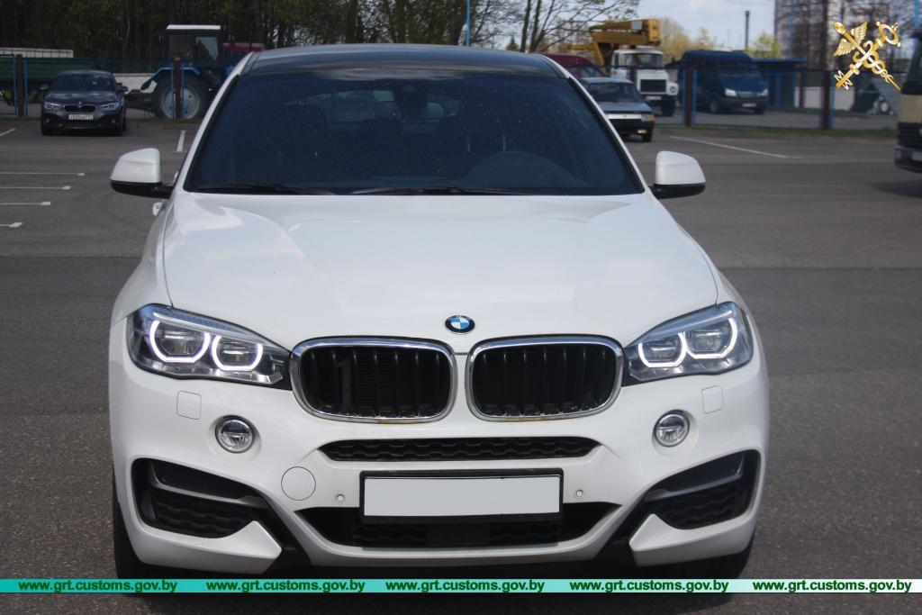 В Гродно у гражданина Польши изъят BMW-X6 стоимостью 70 тыс. евро