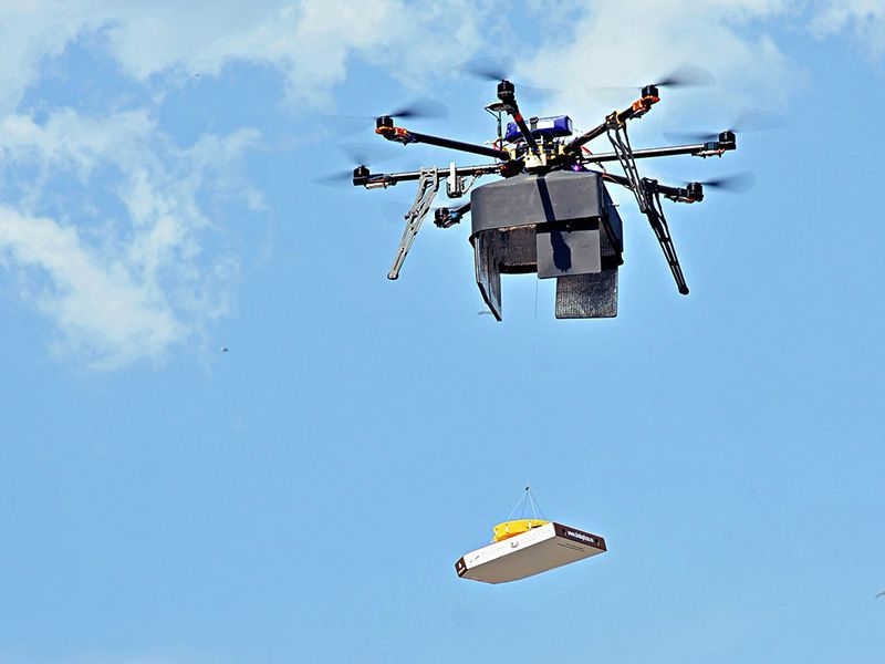 В Беларуси будут доставлять почту дронами