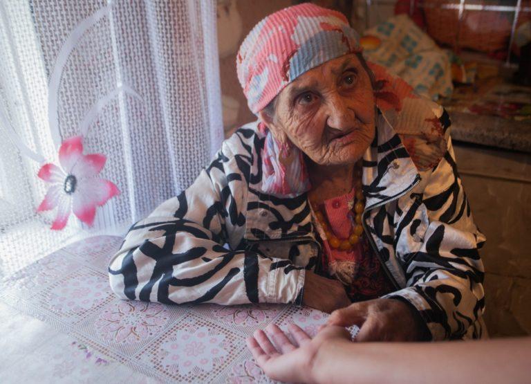 119-летняя цыганка из-под Лиды поделилась секретом долголетия