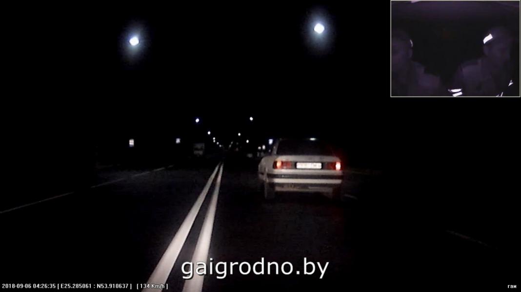 В Лиде сотрудники ГАИ преследовали пьяного парня, спешившего к девушке