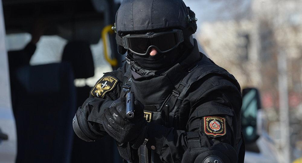В Минске милиционер прострелил пьяному ногу