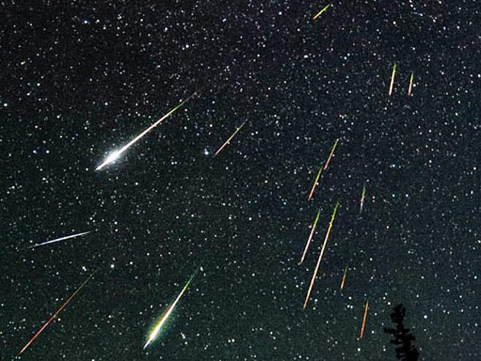 В ночь на 4 января белорусы могут наблюдать метеорный поток