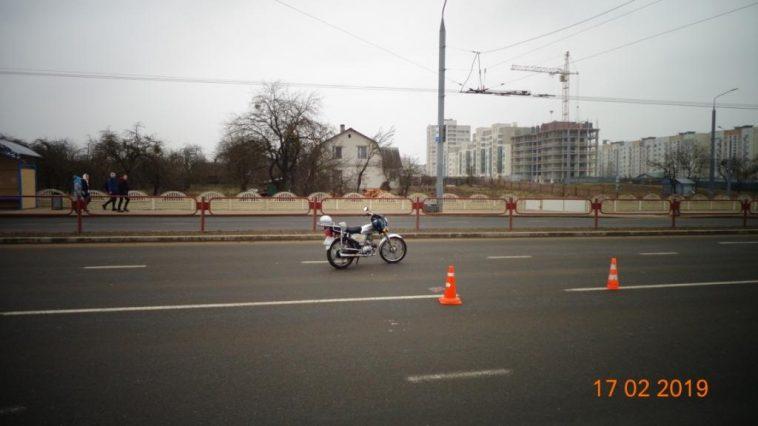 В Гродно произошло ДТП с участием мопеда