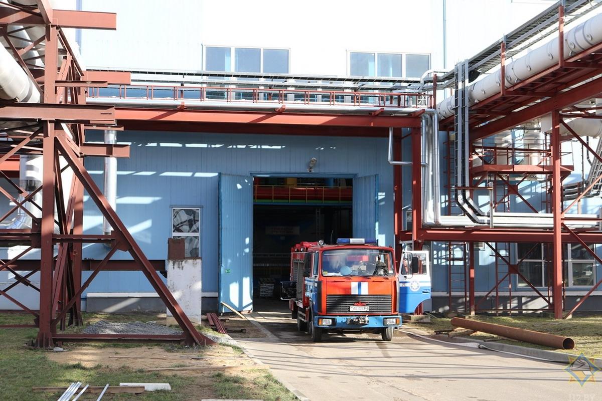 В Гродно на электростанции произошло замыкание