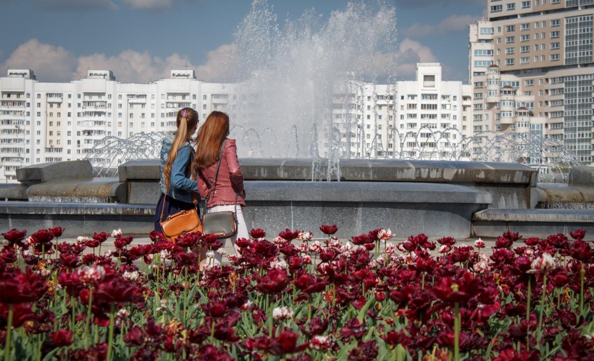 На выходные в Беларуси ожидается теплая погода