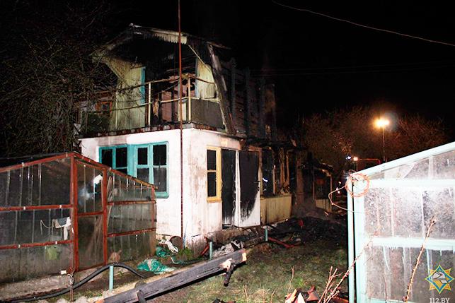 В Гродненском районе в огне погибла дачница