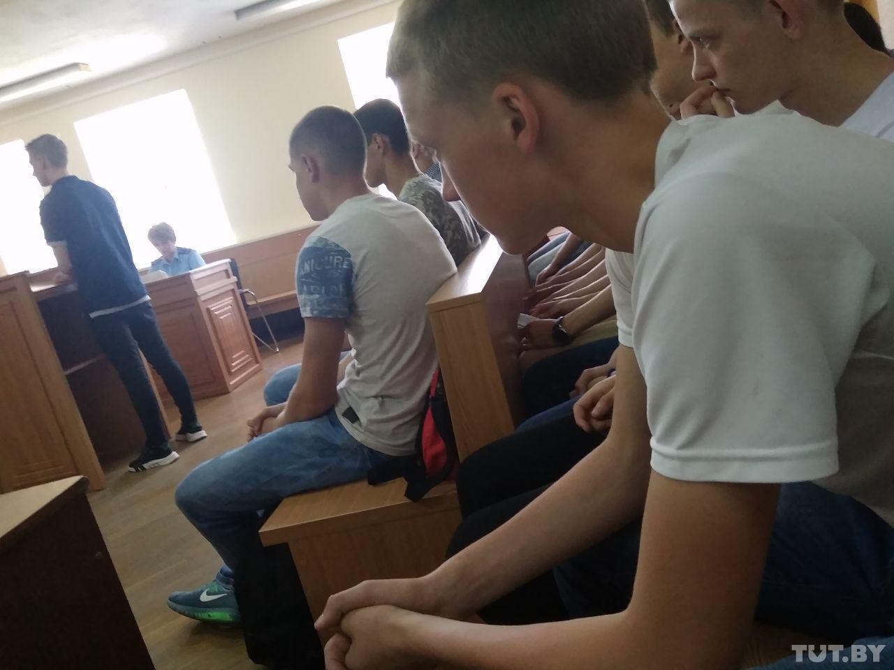 В Гродно бывших воспитанников училища олимпийского резерва осудили за побои младшекурсников