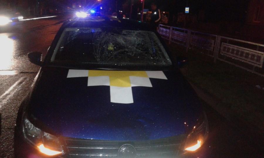 В Лиде автомобиль такси насмерть сбил 81-летнего мужчину