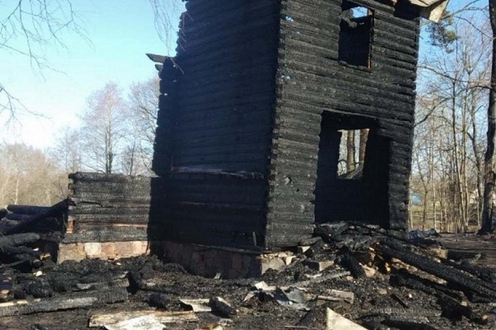 В Беларуси нечаянно сожгли костел 19-го века