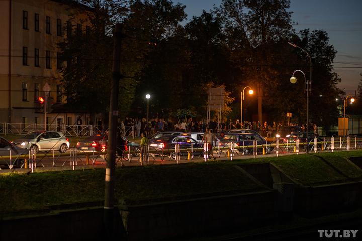 Гродно: забастовка на рынке, женская акция и задержания вечером