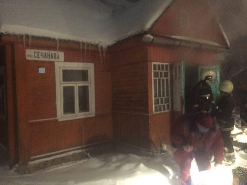 В Лиде при пожаре замкнувшего телевизора погиб мужчина