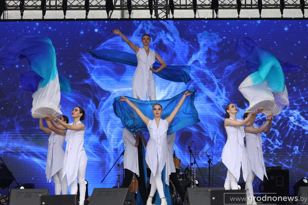 В Лиде прошел спортивно-культурный фестиваль «Вытоки»