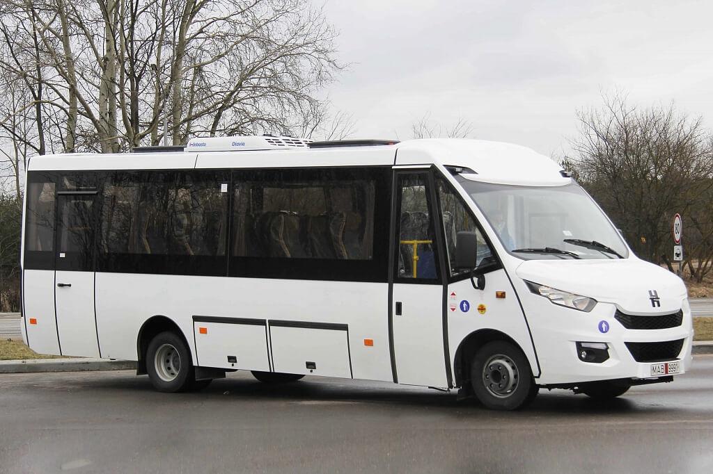 ОАО «Лидские автобусы Неман» - междугородная модель Неман 420234-511