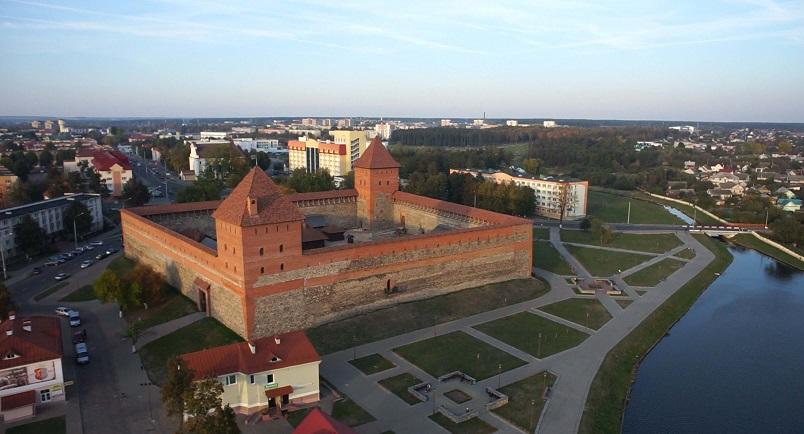 В Лидском замке после реставрации открылась башня