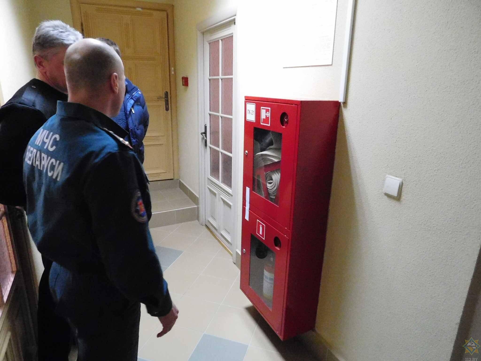 МЧС продолжает мониторинг организаций и предприятий в Лиде