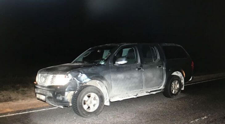 Ночью в Лидском районе машина сбила неизвестного
