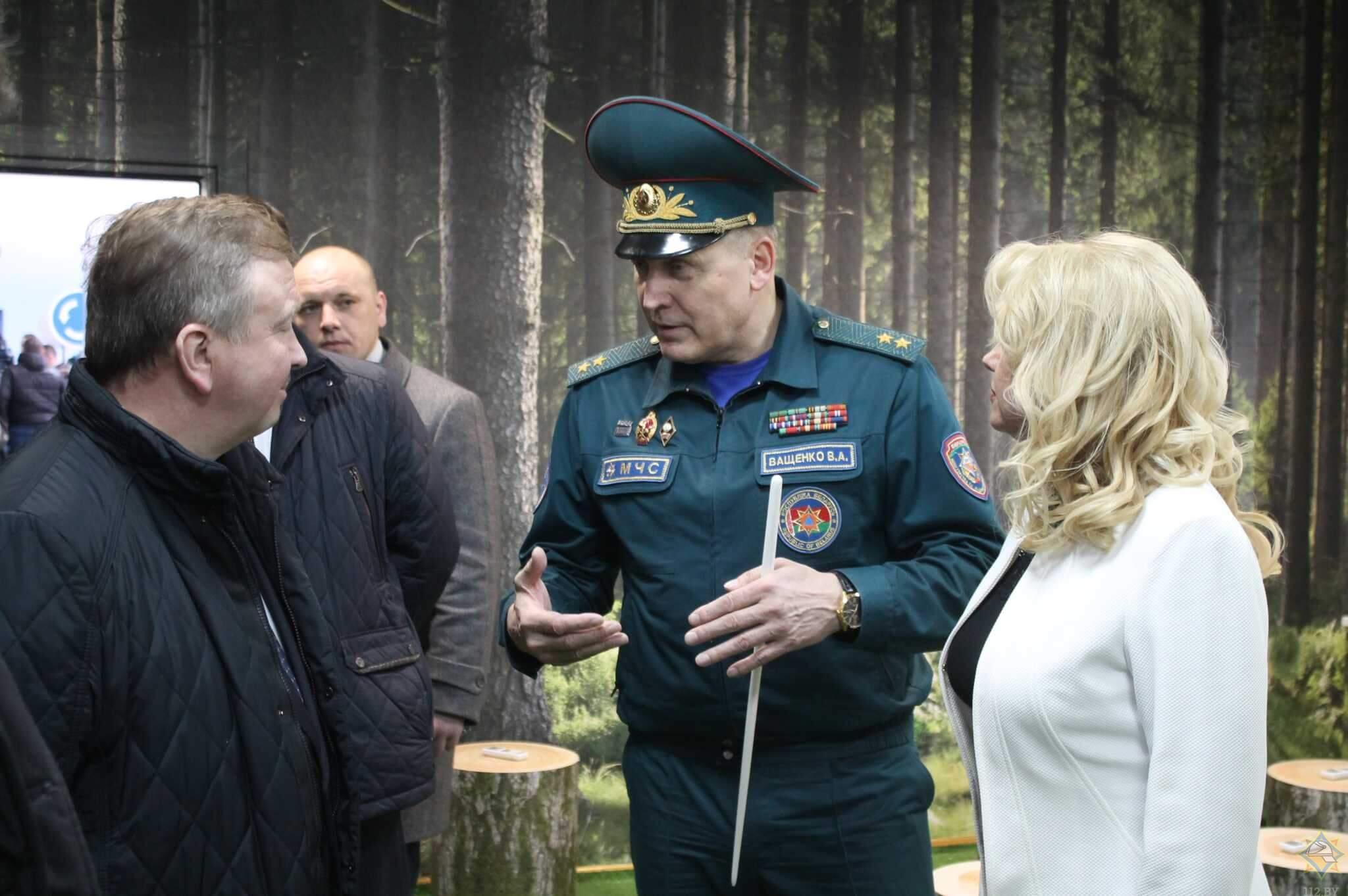 Премьер-министр Беларуси посетил Центр безопасности МЧС в Лиде