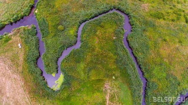 Правый приток Немана, река Дитва в Лидском районе. Фото – Василий Молчанов/Белсат