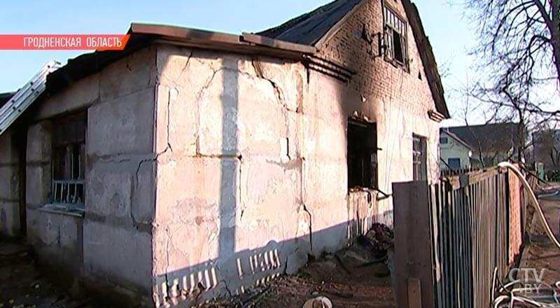 В Лидском районе семья погибла при пожаре