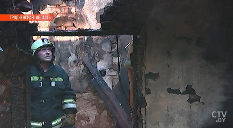 В Лидском районе семья погибла при пожаре / Credits: ctv.by