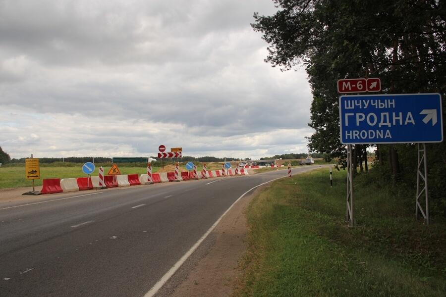 В ноябре откроется движение на лидском участке М6 без ограничений