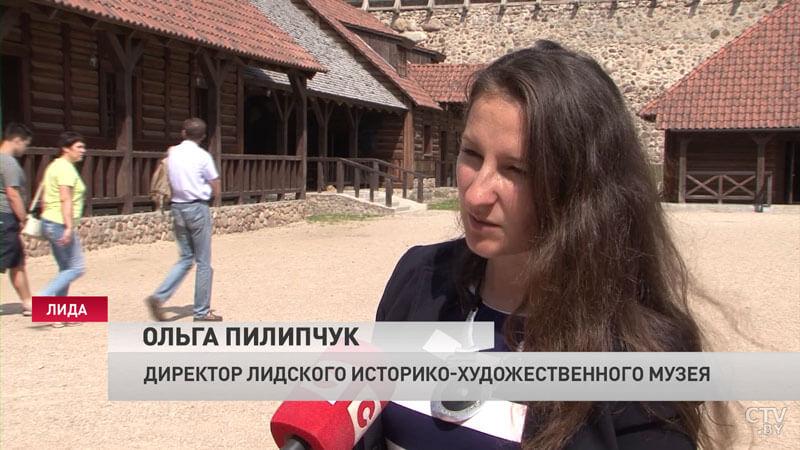 Ольга Пилипчук, директор Лидского историко-художественного музея