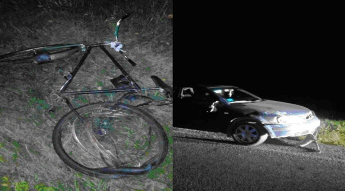 Под Лидой «Фольксваген» насмерть сбил велосипедистку
