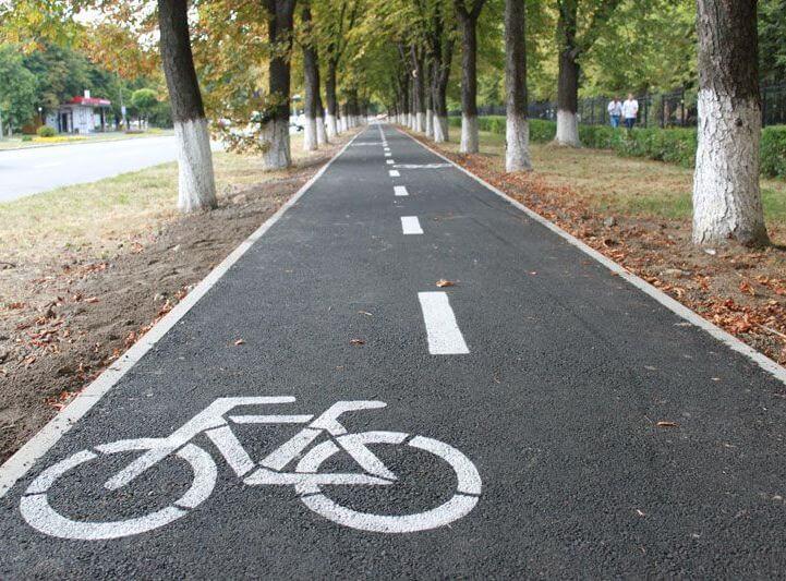 В Лиде развивают велосипедную инфраструктуру