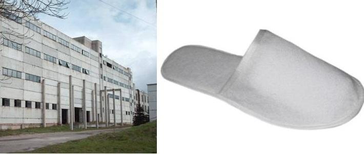 Лидская обувная фабрика начала выпускать гостиничную обувь: махровые туфли и тапочки