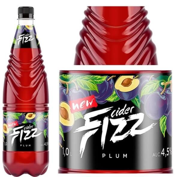 """""""Лидское пиво"""" выпустило новый сидр натурального брожения FIZZ Plum"""