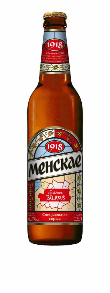 Этикетка пива Менскае от Лидского пива вызвала ажиотаж в соцсетях