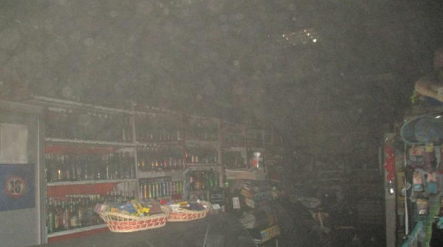 >В городе Лида этой ночью горел продовольственный магазин