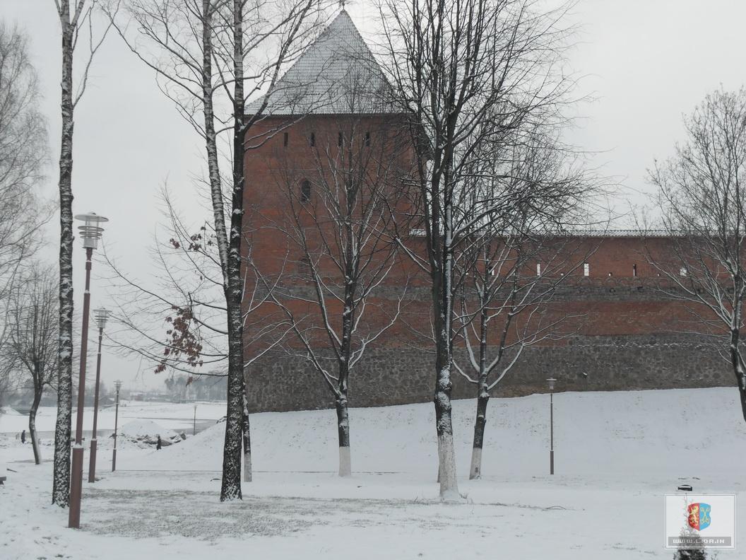 Лидский замок, январь 2011