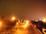 Лидская улица в свете ночных фонарей